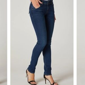 Hudson Collin Midrise Skinny Jeans